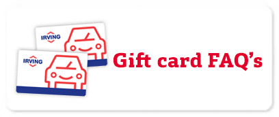 Irving oil gas rewards card