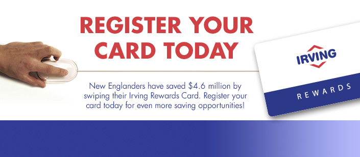 irving rewards - Irving Rewards Card