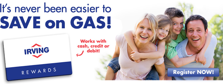 It's never been easier to save on gas!